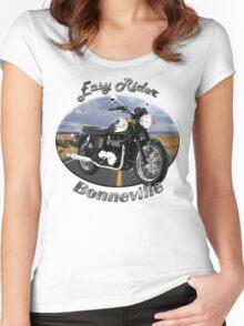 Triumph Bonneville Easy Rider Women's Fitted Scoop T-Shirt