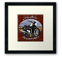 Triumph Bonneville Easy Rider Framed Print