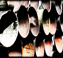 Rusted Industrial Outcasts by KandisGphotos
