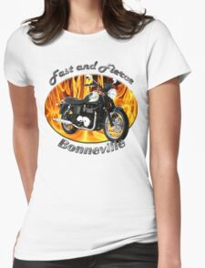 Triumph Bonneville Fast and Fierce Womens Fitted T-Shirt