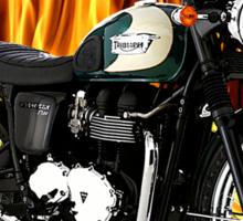 Triumph Bonneville Fast and Fierce Sticker