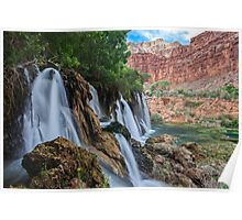 Fifty Foot Falls Poster