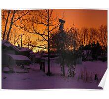 Ontario Snowset Poster