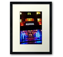 The Daffodil at Christmas, Cheltenham. Framed Print