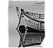 Old boat Poster