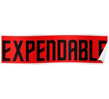 EXPENDABLE Poster