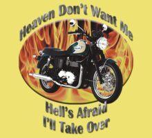 Triumph Bonneville Heaven Don't Want Me One Piece - Short Sleeve