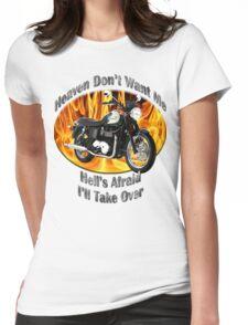 Triumph Bonneville Heaven Don't Want Me Womens Fitted T-Shirt