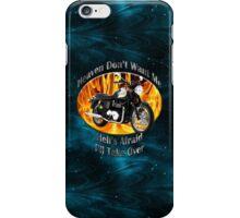 Triumph Bonneville Heaven Don't Want Me iPhone Case/Skin