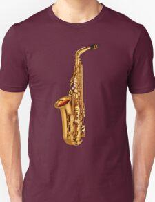 Golden Saxophone T-Shirt