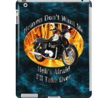 Triumph Bonneville Heaven Don't Want Me iPad Case/Skin