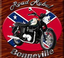 Triumph Bonneville Road Rebel by hotcarshirts