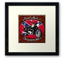 Triumph Bonneville Road Rebel Framed Print