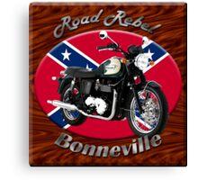 Triumph Bonneville Road Rebel Canvas Print