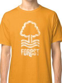 Nottingham Forest Distressed Logo Classic T-Shirt