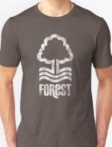 Nottingham Forest Distressed Logo T-Shirt