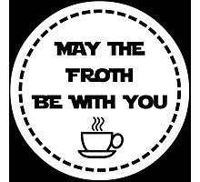 Star Wars Coffee Photographic Print