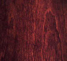 Wood Collection :  Dark Red Basswood phone case by Michael Bosko