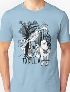 To Kill a Mockingbird (black and white) Unisex T-Shirt