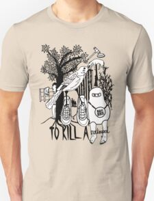 To Kill a Mockingbird (black and white) Unisex T-Shirt