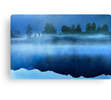 Mirror Lake New Zealand Canvas Print