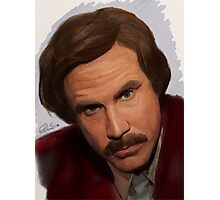 Ron Burgundy-The Anchorman Photographic Print