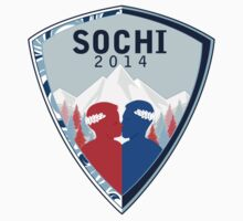 Sochi winter games logo by intergalacticK