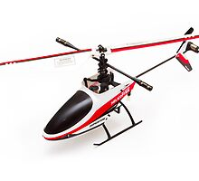 Remote controlled helicopter by Martyn Franklin