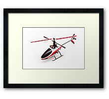 Remote controlled helicopter Framed Print