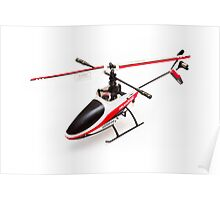 Remote controlled helicopter Poster
