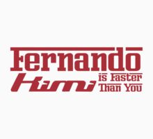 Fernando, Kimi is Faster Than You (Light Shirts) by oawan