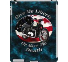 Triumph Bonneville Give Me Liberty iPad Case/Skin