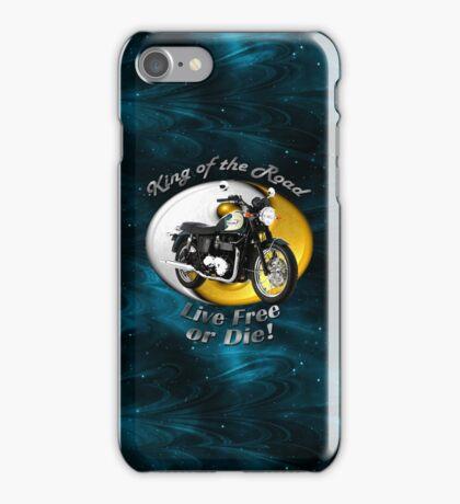 Triumph Bonneville King Of The Road iPhone Case/Skin