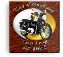 Triumph Bonneville King Of The Road Metal Print