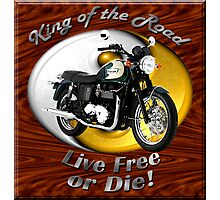 Triumph Bonneville King Of The Road Photographic Print