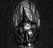 Cute Harry Potter at forbiden forest by neutrone