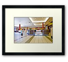 Wait, what's this? You said we were going to do a rap gig for a couple of hours!! Framed Print