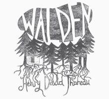 Walden (grey) Baby Tee