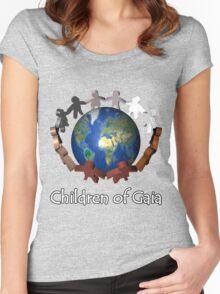 Children of Gaia T-Shirt Women's Fitted Scoop T-Shirt