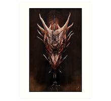 Smaug And The Thief Art Print