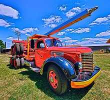 An Old Lumber Truck by Chris Donner