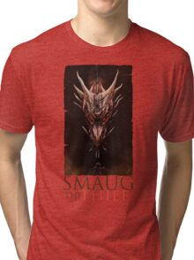 Smaug And The Thief Tri-blend T-Shirt