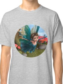 Flying Little Fairy Butterfly Classic T-Shirt