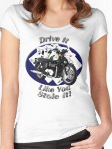 Triumph Bonneville Drive It Like You Stole It Women's Fitted Scoop T-Shirt