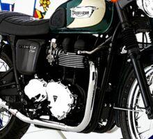Triumph Bonneville Drive It Like You Stole It Sticker