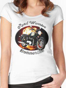 Triumph Bonneville Road Warrior Women's Fitted Scoop T-Shirt