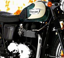Triumph Bonneville Road Warrior Sticker