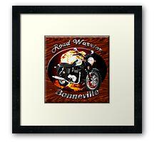Triumph Bonneville Road Warrior Framed Print