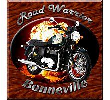Triumph Bonneville Road Warrior Photographic Print