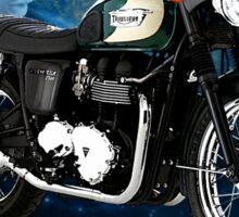 Triumph Bonneville Night Rider Sticker